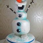 3d Frozen Olaf Cake