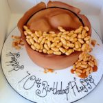 Pie and Beans Cake