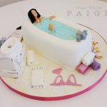 A Relaxing Bath Cake!