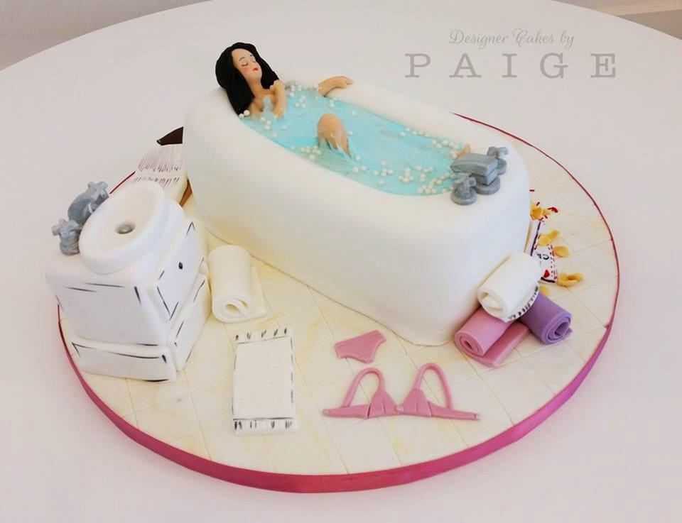 Cake Decorating Bath Uk : A Relaxing Bath Cake!