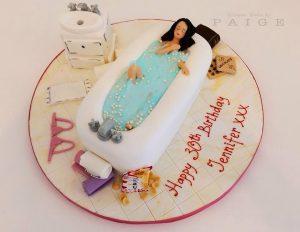 A Relaxing Bath Cake!