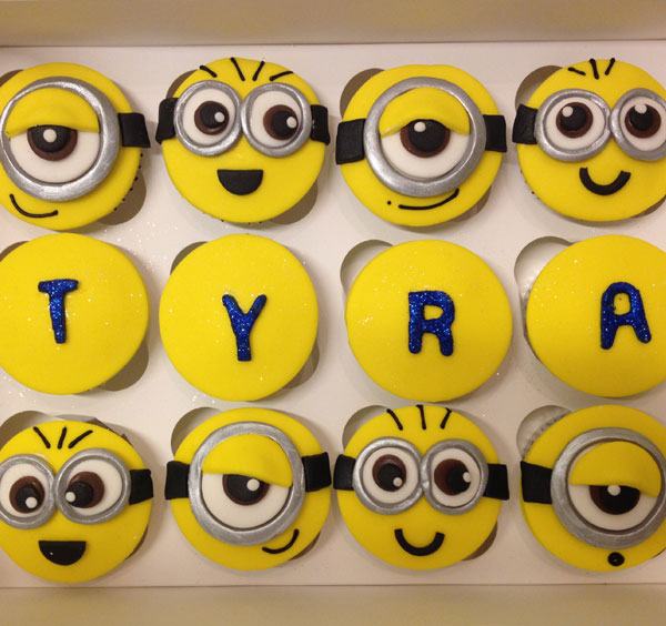 Gallery For Minion Birthday Cupcakes