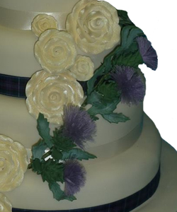 Wedding cakes at Designer Cakes by Paige
