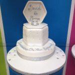 white-silver-engagement-celebratio-cake