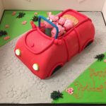 Girls Birthday 12 - Peppa Car