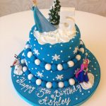 Frozen Tier Cake
