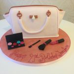 Handbag and Makeup Cake