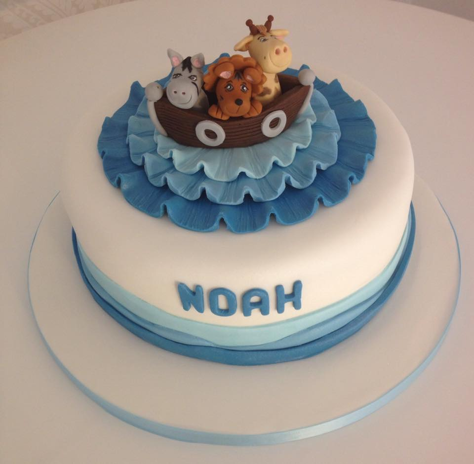 Ark Birthday Cake