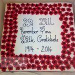 Rememberance Poppy Cake