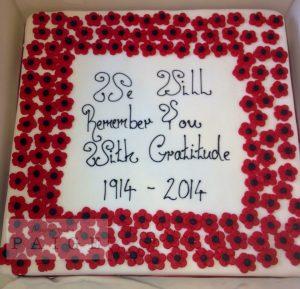 Rememberance Cake