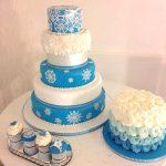 Winter Wedding Desert Table