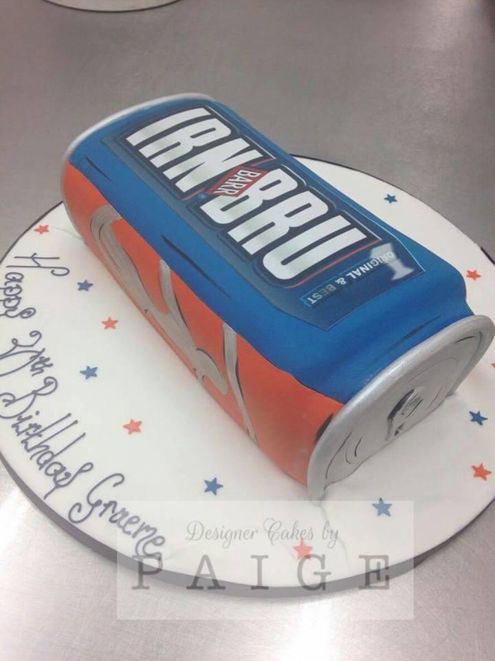 Iron Bru Can Cake
