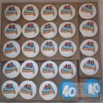 40th Playmobil Cupcakes