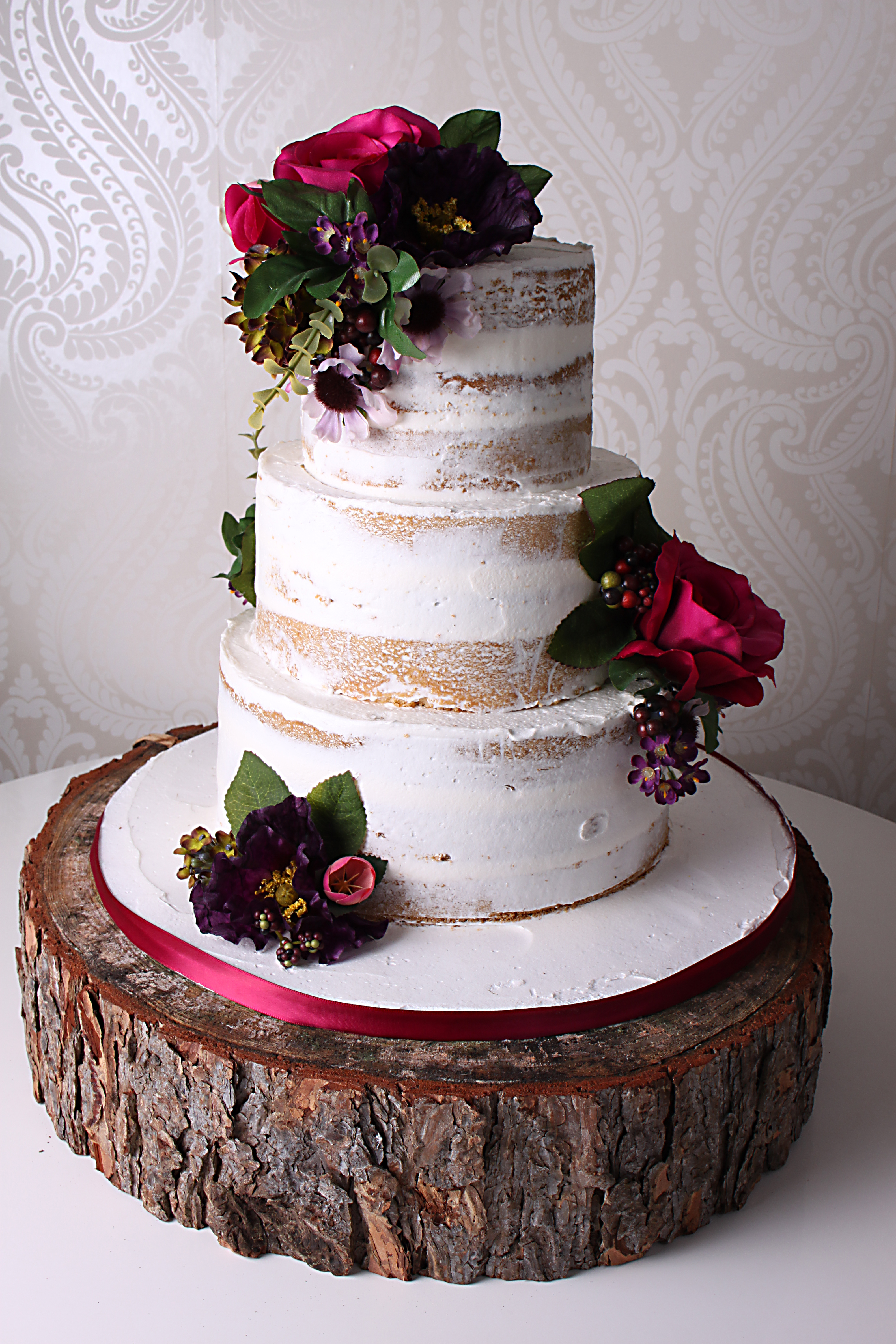 Naked Cake Designer Cakes By Paige