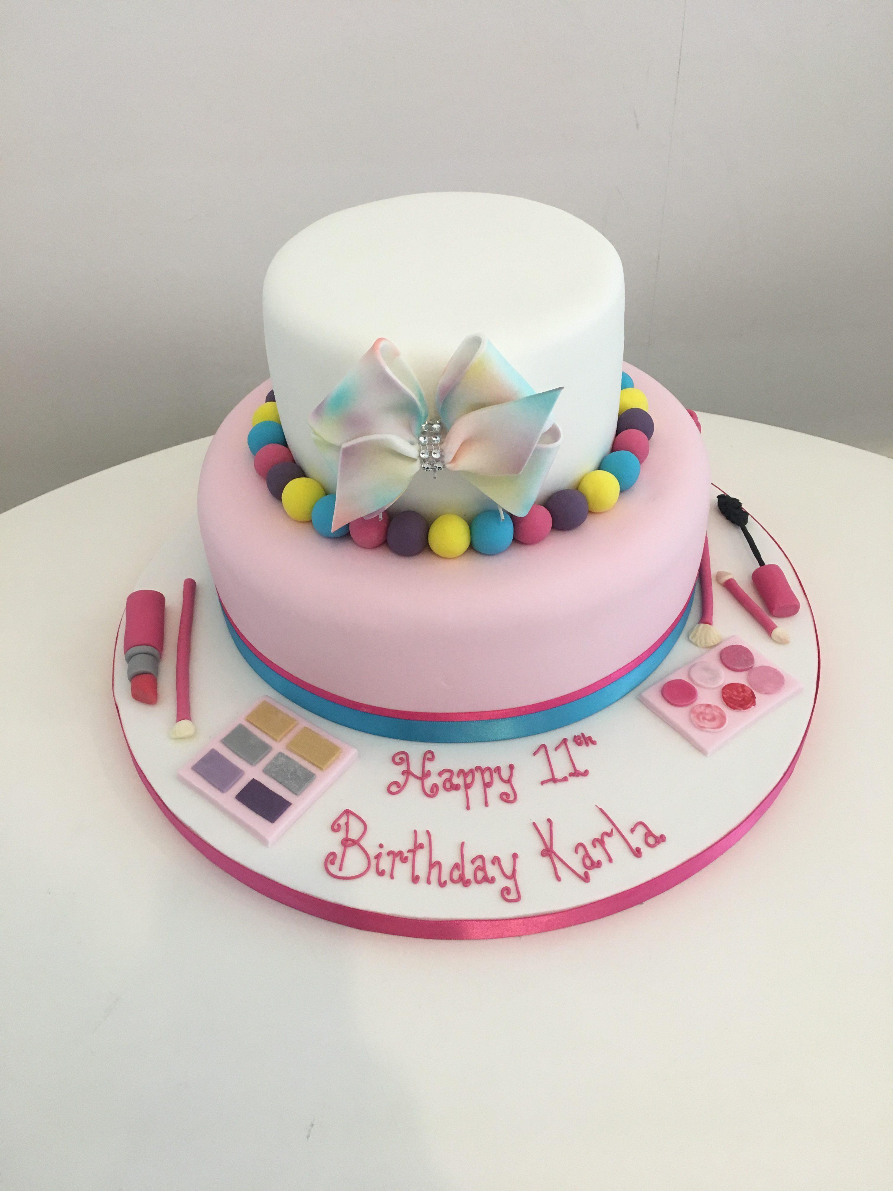 Jojo Bow Birthday Cake