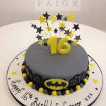 Batman One Tier Cake