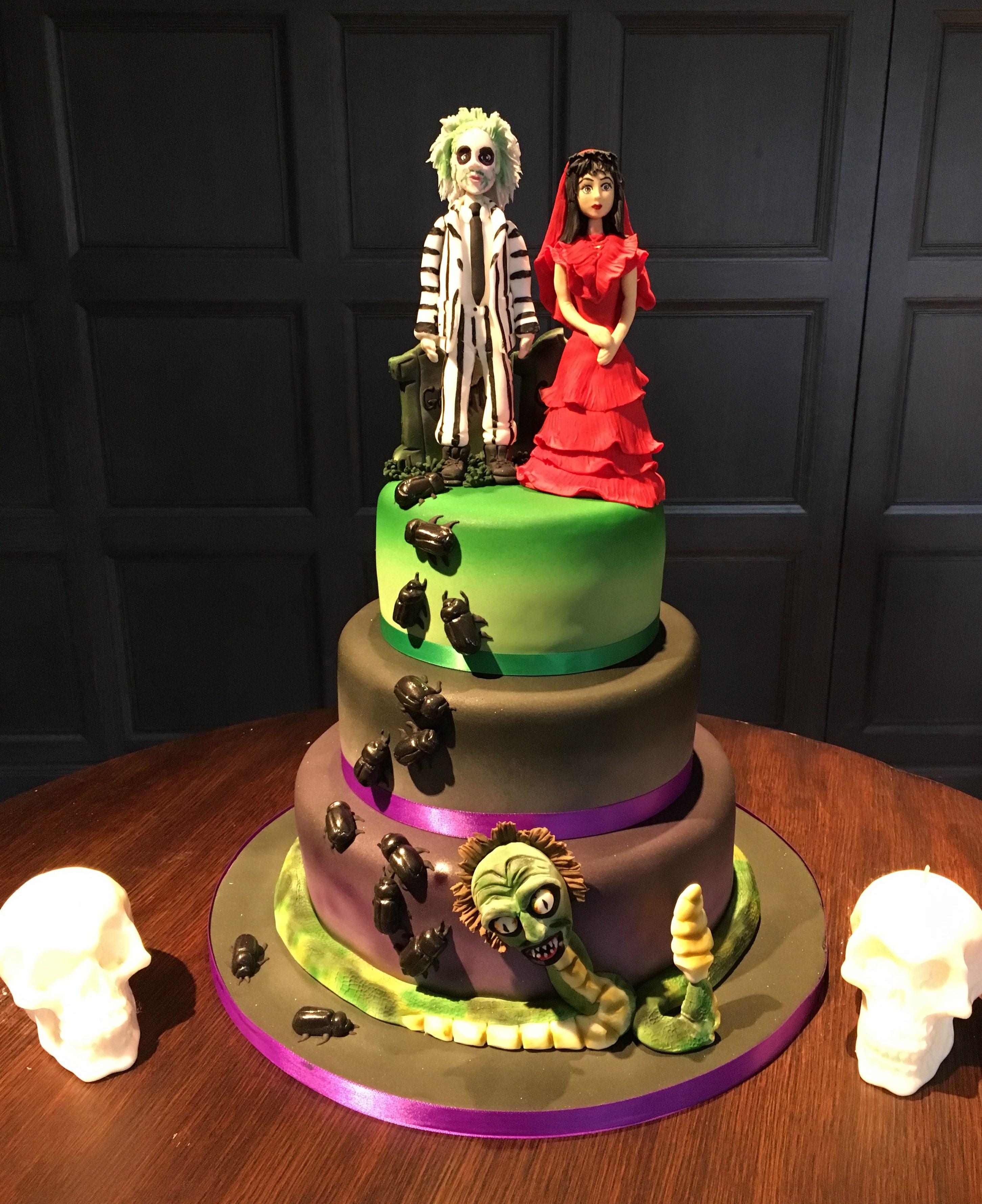 Beetle Wedding Cake Designer Cakes By Paige