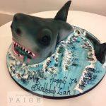 3D Shark Cake Boys Birthday