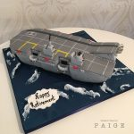 Airship Carrier Cake
