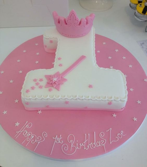 Fairy Princess Number 1 - Designer Cakes by Paige
