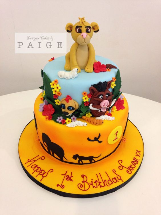 Lion King Two Tier