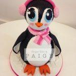 Pretty Penguin Cake