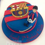 Barcelona Football Club Cake Glasgow