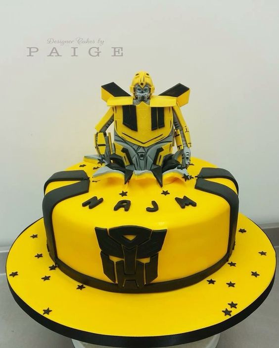 Transformer Bumblebee Designer Cakes By Paige