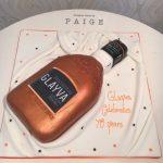Glayva Bottle Corporate Cake