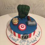Avengers Assemble Birthday Cake