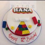 Hidden Lego Birthday Cake