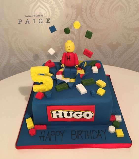 Lego Mini Figure Designer Cakes By Paige