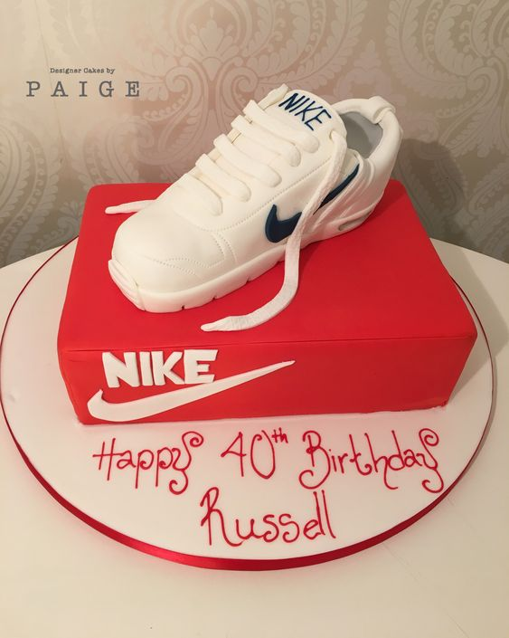 3d Nike Trainer Designer Cakes By Paige