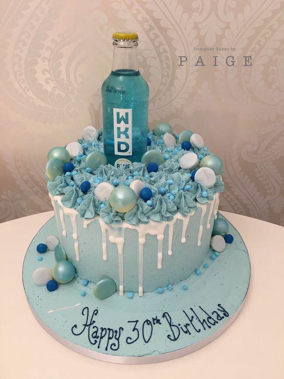 Blue Wkd Designer Cakes By Paige