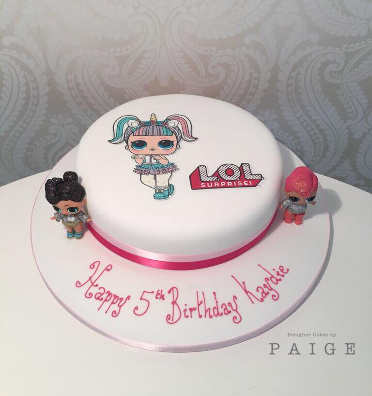Lol Dolls Print Out 8 Option Designer Cakes By Paige