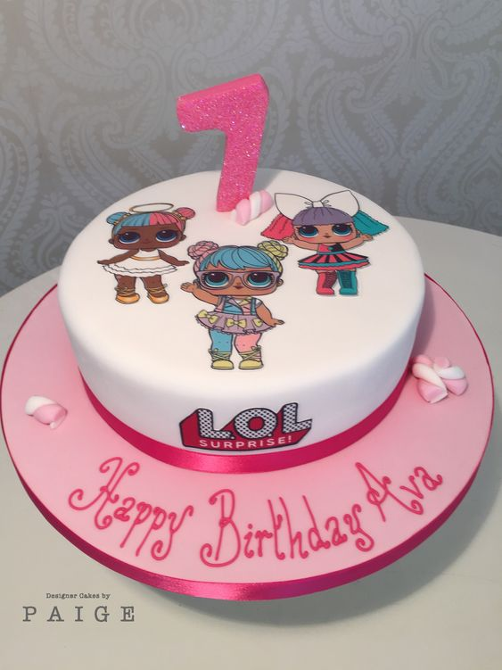 Lol Dolls Print Out 8 Quot Option Designer Cakes By Paige