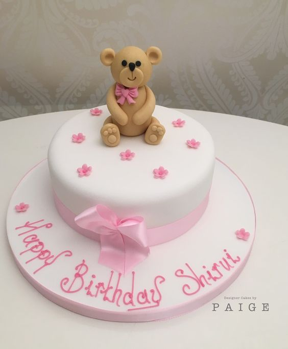 Pink And White Teddy Bear